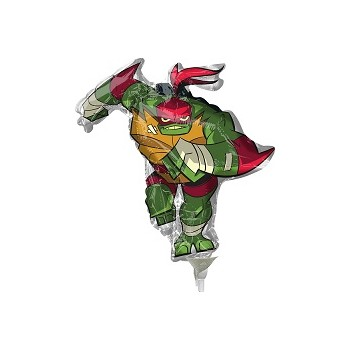 Palloncino Mylar Mini Shape 22 cm. Rise of Teenage Mutant Ninja Turtles