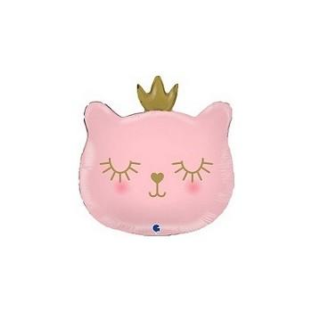Palloncino Mylar Mini Shape 35 cm. Princess Castle