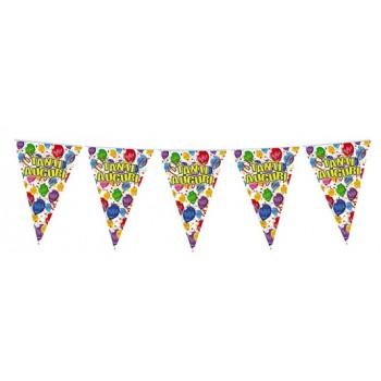 Palloncino Mylar 45 cm. Happy Cake & Candles Birthday