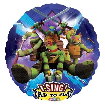 Palloncino Mylar Musicale 71 cm. Teenage Mutant Ninja Turtles