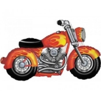 Palloncino Mylar Super Shape 114 cm. Motorcycle