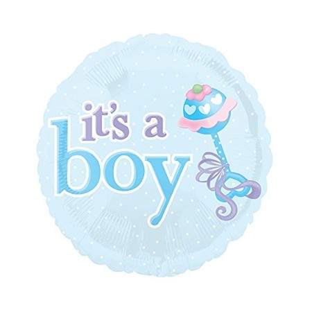 Palloncino Mylar 45 cm. It's a Boy