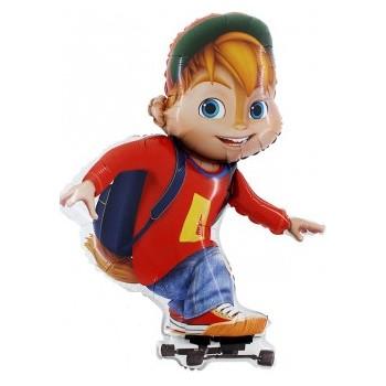 Palloncino Mylar Mini Shape 22 cm. Barbie Sparkle