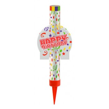 Candela Fontana Flambè - Happy Birthday 1 pz