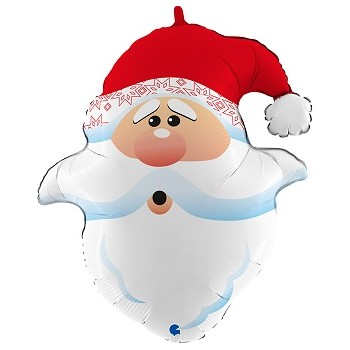Palloncino Mylar Super Shape 76 cm. Santa Claus