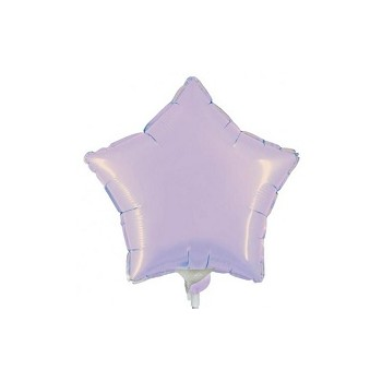 Palloncino Mylar Mini Shape 23 cm. Stella Lilla