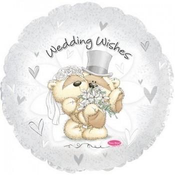 Palloncino Mylar Numero 0 Maxi - color Rosa Antico - 100 cm.