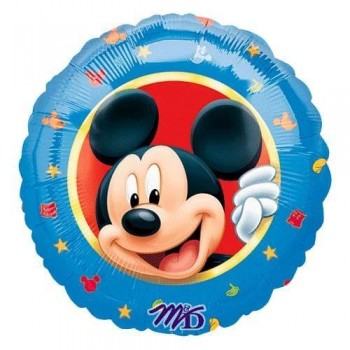 Palloncino Mylar 45 cm. Mickey Mouse Portrait Border