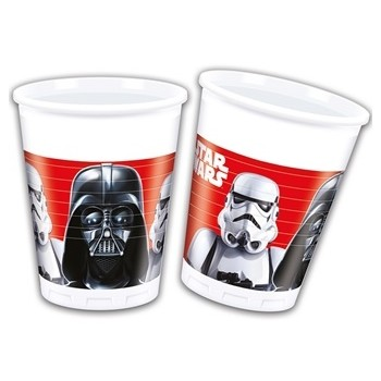Bicchieri plastica 200 ml Star Wars 8 pz.