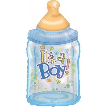 Palloncino Mylar Numero 0 Maxi - color Oro - 100 cm.