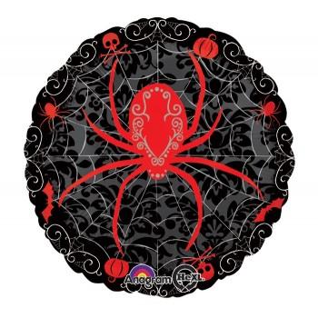 Palloncino Deco Bubble Argento Chrome 81 cm.