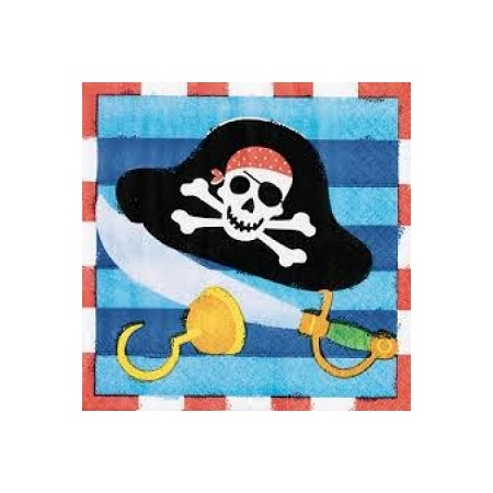 Tovaglioli Pirati 16pz