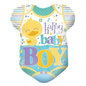 Palloncino Mylar 45 cm. Baby Clothes Boy