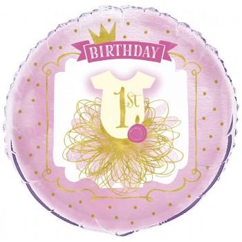 Palloncino Mylar 45 cm. I Love You Gold