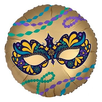 Palloncino Mylar 45 cm. Satin Infused Night in Disguise Mask