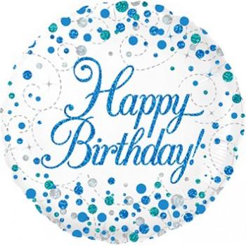 Palloncino Mylar Mini Shape 22 cm. I Love You Stripes And Hearts