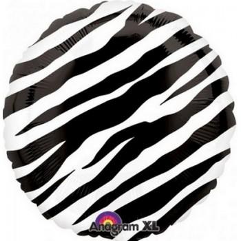 Palloncino Mylar 45 cm. Rotondo Azzurro