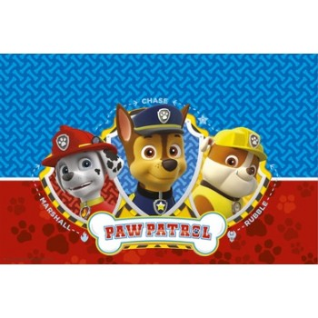 Tovaglia plastica 120x180 cm Paw Patrol Ready for Action