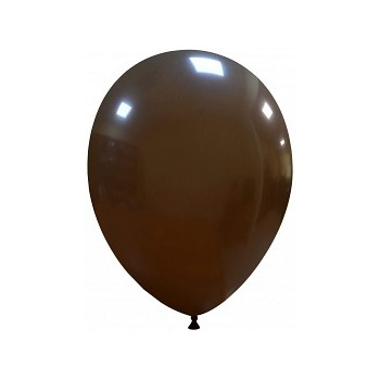 Palloncino in Lattice Rotondo 30 cm. Marrone