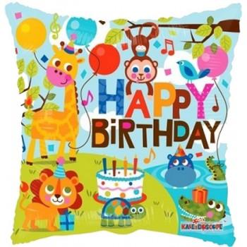 Palloncino in Lattice Rotondo 30 cm. Rosa Confetto