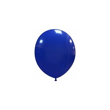 Palloncino in Lattice Rotondo 12,5 cm. Blu Scuro