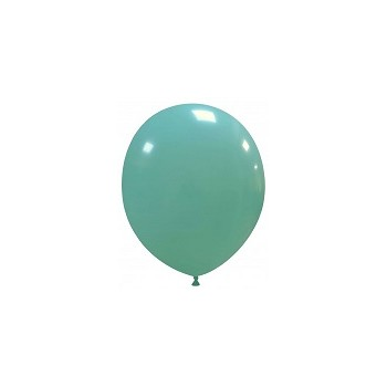 Palloncino in Lattice Rotondo 12,5 cm. Verde Tiffany