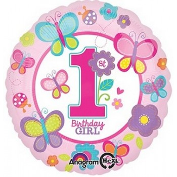 Palloncino Mylar Mini Shape 35 cm. Angel Nino Pink
