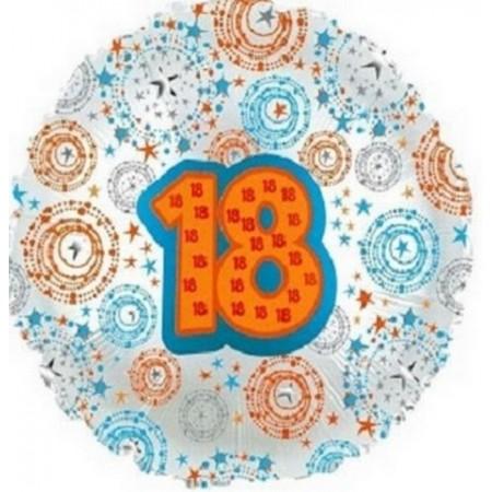 Palloncino Mylar 45 cm. Cuore Argento Satinato