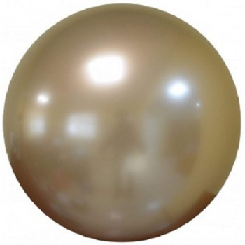 Palloncino Deco Bubble Oro Chrome 60 cm.