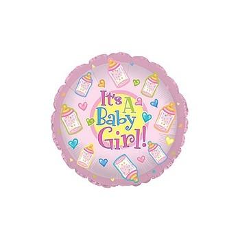 Palloncino Deco Bubble Oro Chrome 60 cm.