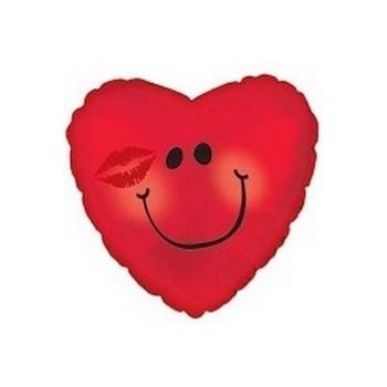 Palloncino in Lattice Rotondo 30 cm. Azzurro