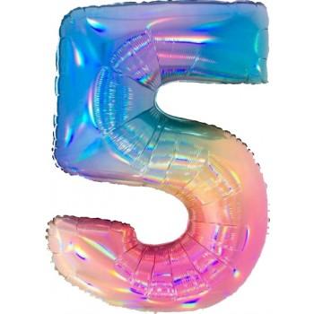 Palloncino Mylar 45 cm. 40° Age Happy Birthday