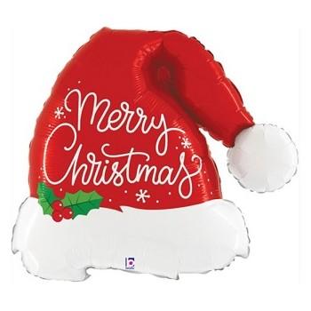 Palloncino Mylar 45 cm. 50° Happy Birthday Star Prism