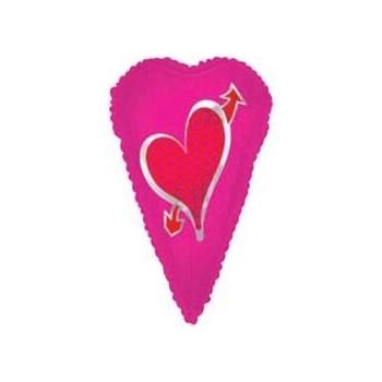 Palloncino Mylar 45 cm. Q - Happy Birthday Dots