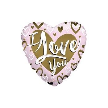 Palloncino Mylar 45 cm. F - Happy Birthday Gift Box Shape