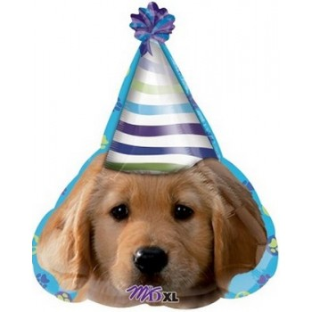 Palloncino Mylar 45 cm. F - Party Pups Party Face