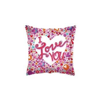 Palloncino Mylar 45 cm. S - Happy Birthday Day Bright Stars
