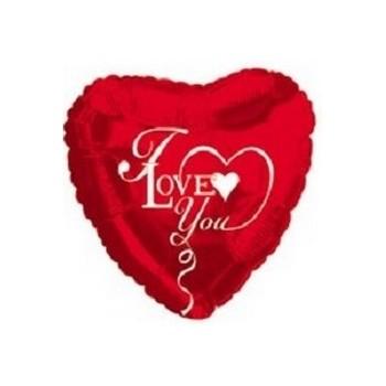 Palloncino Mylar 45 cm. T - Birthday Blue Cupcake Shape