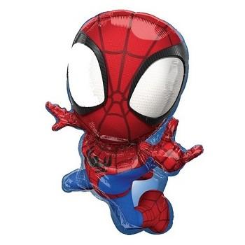 Palloncino Mylar 45 cm. Magicolor Spooky Bats Swirls
