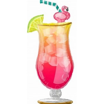 Palloncino Mylar Super Shape 104 cm. Tropical Drink