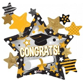 Palloncino Mylar Mini Shape 22 cm. Unicorn