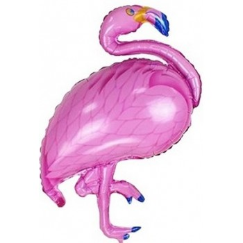 Palloncino Mylar Super Shape 75 cm. Pink Fenicottero