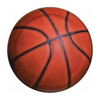 Basket Fanatic - Piatto Carta 18 cm. - 8 pz.