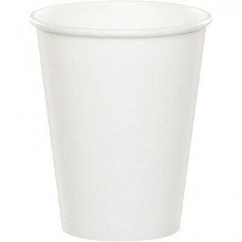 Bianco - Bicchiere Carta 266 ml. - 8 pz.