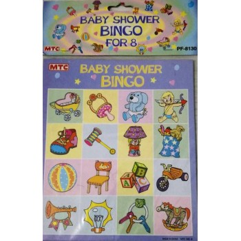 Bingo Baby Shower