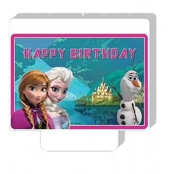 Candela Happy Birthday Frozen 1 pz.