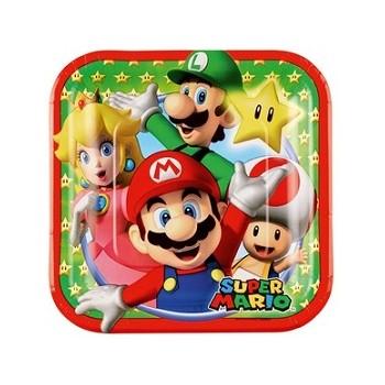 Cartolina Auguri Origami Carrozzina Azzurra