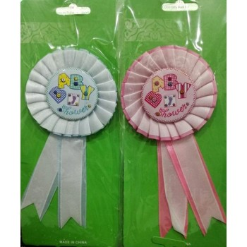 Coccarda Baby Shower 1 pz