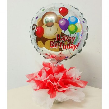 Confezione Compleanno. Dim: cm 18x25 h circa. Prodotto personalizzabile