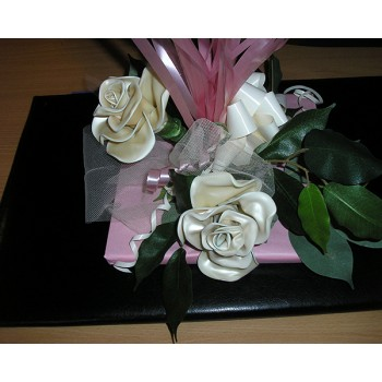 Confezioni e Bouquet - Fiori in lattice, Composizione con fiori - Base